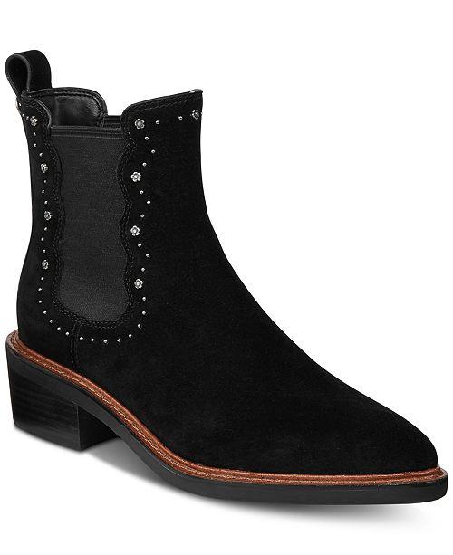 e35e5277a COACH Bowery Chelsea Booties & Reviews - Boots - Shoes - Macy's