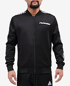 Black Pyramid Men's Logo Taping Track Jacket