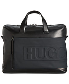 Hugo Boss Men's Hero Leather Document Case