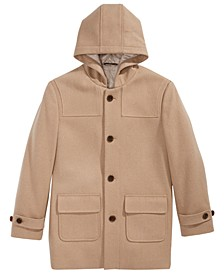 Big Boys Plain Camel Coat