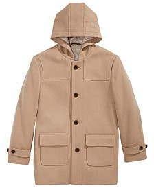 Lauren Ralph Lauren Big Boys Plain Camel Coat