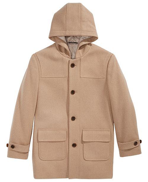 Lauren Ralph Lauren Big Boys Plain Camel Coat