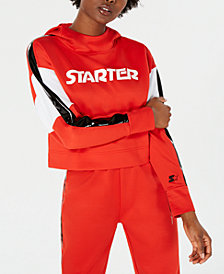 Starter Cropped Graphic Hoodie