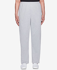 Alfred Dunner Petite At Ease Casual Workout Pants