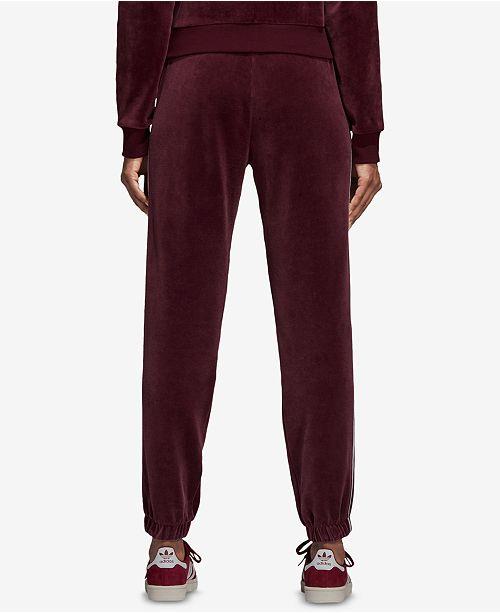 a5aa6ca71e9 adidas Velour Track Pants & Reviews - Pants & Capris - Women - Macy's