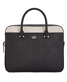 Kate Spade New York 13 Inch Saffiano Leather Laptop Bag