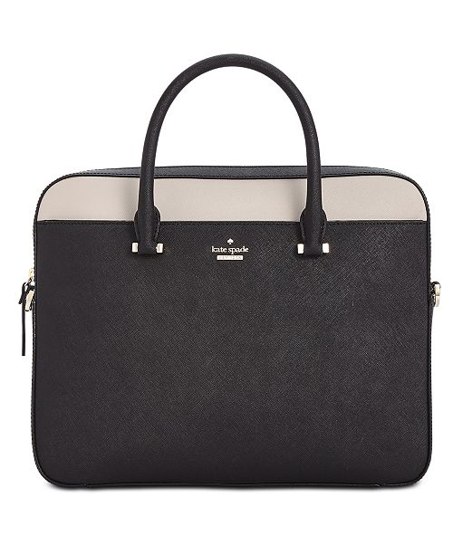 309c1e6b77d7 kate spade new york 13-Inch Saffiano Leather Laptop Bag   Reviews ...