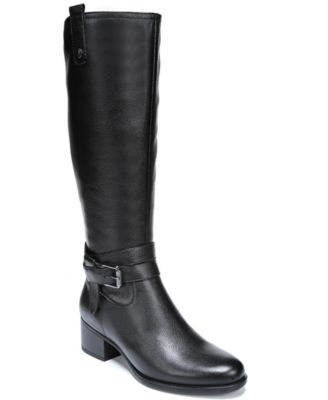 Image of Naturalizer Kim Wide Calf Riding Boots