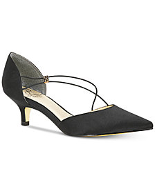 Adrianna Papell Lacy Evening Pumps