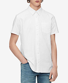 Calvin Klein Men's Set-On Placket Shirt