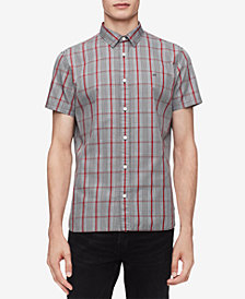 Calvin Klein Men's Glenn Plaid Shirt