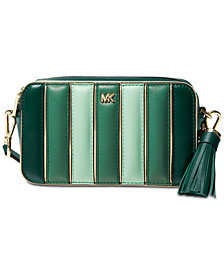 MICHAEL Michael Kors Quilted Leather Tricolor Camera Bag