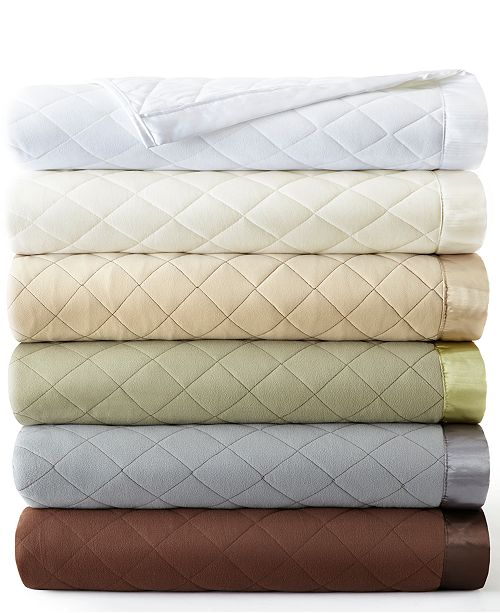 Shavel Micro Flannel Quilted Blanket Collection Blankets Throws - Quilted-blankets-for-the-bed