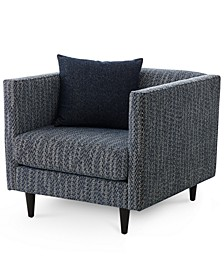 """Bostal 36"""" Fabric Accent Chair, Created for Macy's"""