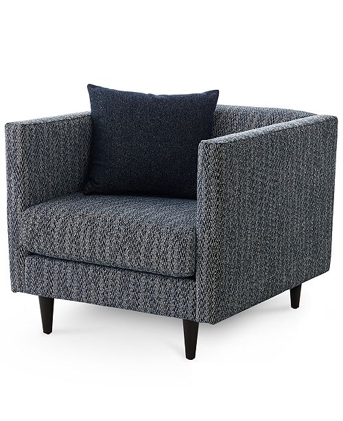 Superb Bostal 36 Fabric Accent Chair Created For Macys Pabps2019 Chair Design Images Pabps2019Com