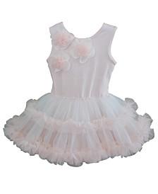 Dusty Rose Ruffle Petti Dress