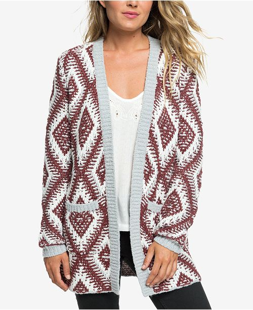 bb0c74f056 Roxy All Over Again Jacquard-Knit Sweater   Reviews - Sweaters ...