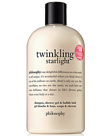 philosophy Twinkling Starlight Shampoo, Shower Gel & Bubble Bath