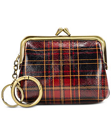 Patricia Nash Tartan Plaid Borse Coin Purse