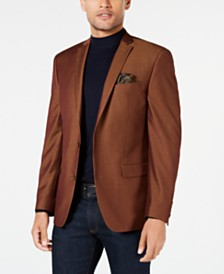 Bar III Men's Slim-Fit Active Stretch Twill Sport Coat, Created for Macy's