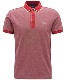 BOSS Men's Regular/Classic-Fit Piqué Cotton Polo