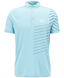 BOSS Men's Striped Polo