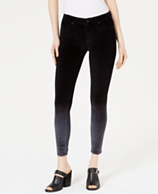 Hudson Jeans Mid-Rise Super-Skinny Ankle Jean