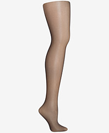 Hanes Curves Plus Size Fishnet Tights