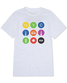 Levi's® Toddler Boys Subway Icons Graphic T-Shirt