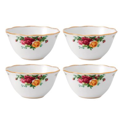Old Country Roses Set/4 Bowl