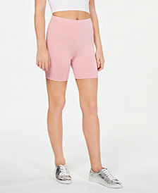 Material Girl Active Juniors' Biker Shorts, Created for Macy's