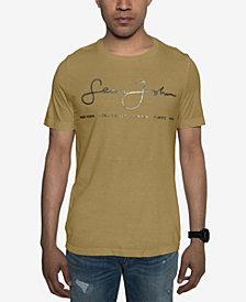 Sean John Men's Signature Script T-Shirt, Created for Macy's