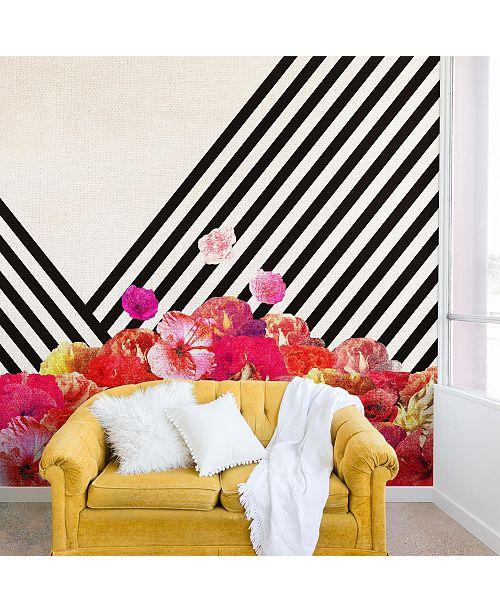 Deny Designs Bianca Green Floraline II 8'x8' Wall Mural