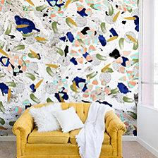 Deny Designs Marta Barragan Camarasa Abstract shapes of textures on marble II Wall Mural