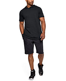 Under Armour Men's Baseline Short Sleeve Hooded Tee