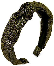 GUESS Metallic-Dot Twist Headband