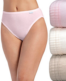 Jockey Plus Size Elance French Cut Brief 3 Pack 1485
