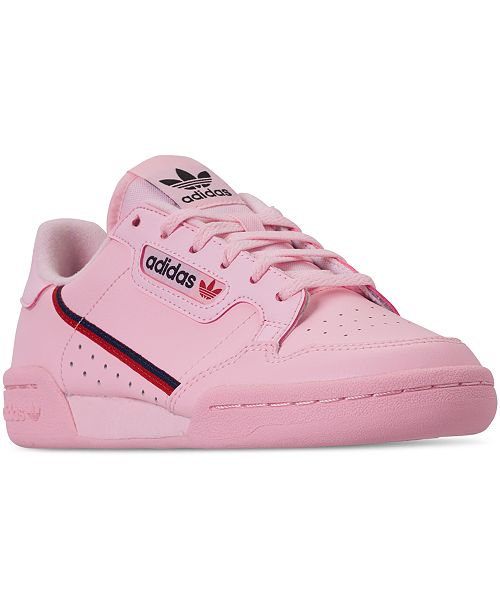 05533e6f013 ... adidas Girls  Originals Continental 80 Casual Sneakers from Finish ...