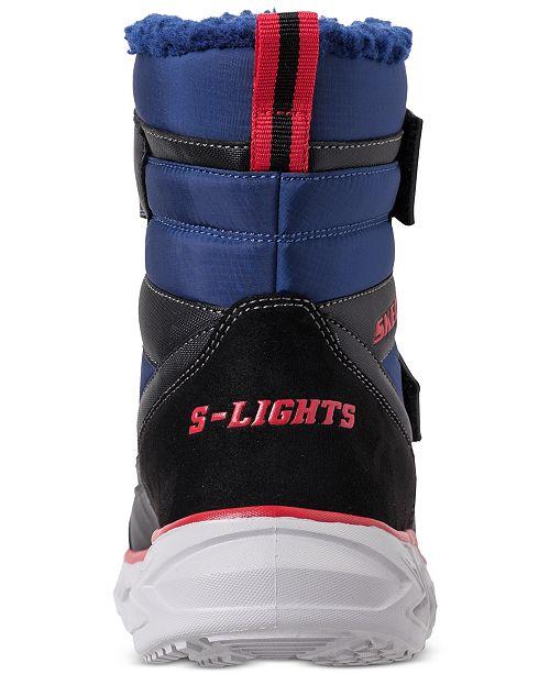 db5cb1bb8558 ... Skechers Little Boys  S Lights  Hypno-Flash 2.0 - Street Breeze Light Up  ...