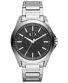 Men's Drexler Stainless Steel Bracelet Watch 44mm
