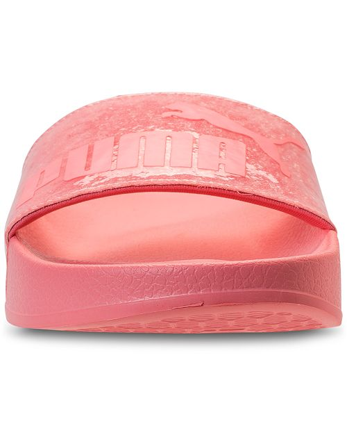 ... Puma Women s Leadcat Glitter Slide Sandals from Finish Line ... d7bbd8425