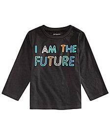 First Impressions Baby Boys FUTURE Graphic Cotton T-Shirt, Created for Macy's