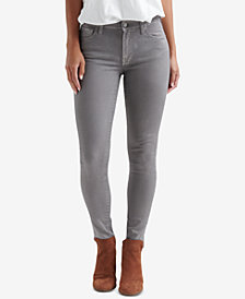 Lucky Brand Ava Coated Skinny Jeans
