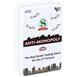 Anti-Monopoly Game Travel Tin