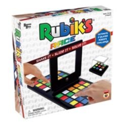Rubik's Race Puzzle Board Game Based on Classic Rubik's Cubes