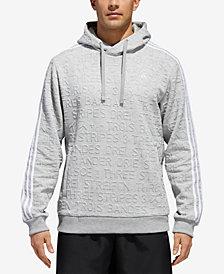 adidas Men's Typography Jacquard-Print Hoodie