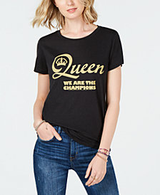 Lucky Brand Queen Graphic Short-Sleeve Top