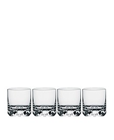 Erik Double Old Fashioned Glasses, Set of 4