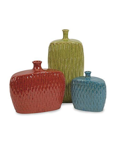 IMAX Herrera Vases - Set of 3