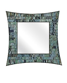 Imax Aramis Mosaic Glass Wall Mirror